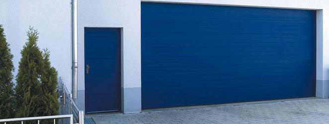 Garagentor mit nebentür  Nebentüren